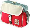 Молодежная вместительная наплечная сумка Traum 7150-02, красный