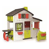 """Игровые комплексы «Smoby» (310209) домик для друзей """"Friends House"""" с чердаком и дверным звонком"""