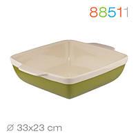 Прямоугольная форма для выпечки/запекания  Natura Oliva Green Ceramica, 33*23*7 Granchio 88511