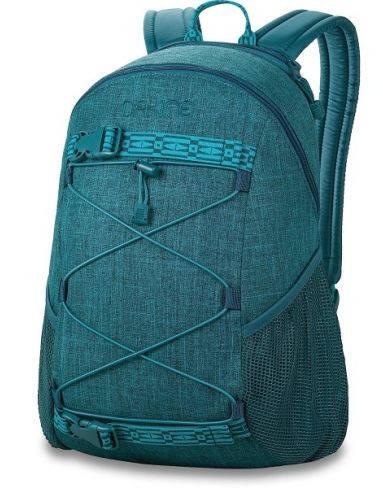 Замечательный женский рюкзак для города, бирюзовый Dakine WOMENS WONDER 15L emerald 610934897708