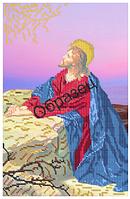 """Схема для частичной вышивки бисером на габардине - """"Гефсиманский сад"""" (Код: Схема, А3, Габардин, Арт.ИЧ-15)"""