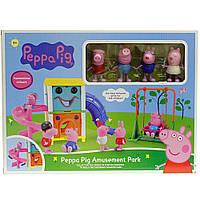 Детский набор свинка Пеппа на горках xz-362