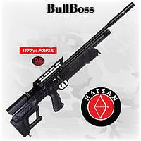 Hatsan bullboss PCP винтовка, bullpup