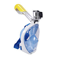 Дайвинг маска Tribord Easybreath для подводного плавания (сноркелинга) c креплением для камеры GoPro
