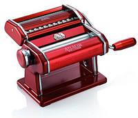 Паста-машина для приготовления лапши и нарезки теста (лапшерезка) Marcato Atlas 150 Rosso Италия