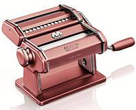 Паста-машина для приготовления лапши и нарезки теста лапшерезка Marcato Atlas 150 Rosa Итали