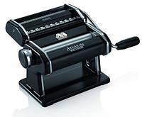 Паста-машина для приготовления лапши и нарезки теста (лапшерезка) Marcato Atlas 150 Nero черная