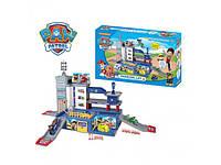 Игровой набор Гараж игрушка парковка детская ZY-580 щенячий патруль, 3 этажа