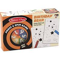 Настольная игра крутилка-давилка Melissa & Doug - День рождения медведя