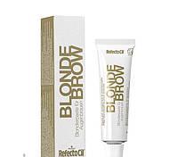 RefectoCil №0 Blonde Brow - Краска для бровей и ресниц блонд - осветляющая паста, 15мл