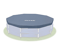Тент для надувного каркасного бассейна Intex 366 см ПВХ