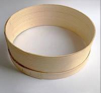 Набор сит 10шт (металлическая решетка, деревянный ободок) (a10100)
