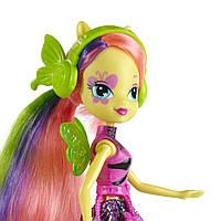 Кукла девушка эквестрии пони Флаттершай серия Радужный Рок Rainbow Rocks Fluttershy
