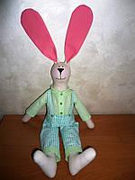 Заяц Тильда мальчик игрушка