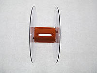 Катушка для мерных материалов : тесьма, ленты, шнуры.  (диаметр 121 мм диаметр катушки 35 мм ширина 45 мм)