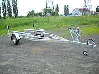 Прицеп для перевозки лодок до 5,3 м, Цинковое покрытие