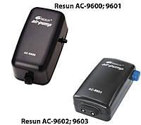 Resun AC-9603 компрессор двухканальный для аквариума до 270 л