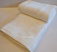 Набор бамбуковых полотенец банное + лицевое. Турция