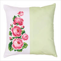 """Набор для вышивки крестом """"Декоративная подушка """"Розы"""""""