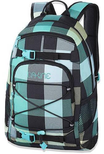 Превосходный женский рюкзак в клеточку со стрепами для борда Dakine GIRLS GROM 13L pippa 610934831788
