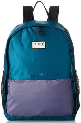Женский карманный рюкзак-трансформер, разноцвет Dakine WOMENS STASHABLE BACKPACK 20L teal shadow 610934898156