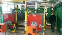 Котел жаротрубный Колви 1,5 МВт (2 шт) б/у+ оборудование к нему
