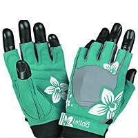 Перчатки спортивные, для зала Mad Max Перчатки женские jungle mfg710 - серо-зеленые 2 шт   M