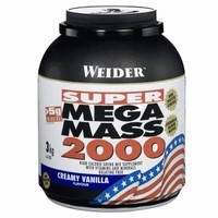 Гейнеры Weider Mega mass 2000 3000 г