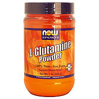 Глютамин NOW L-Glutamine Powder  454 g