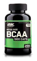 BCAA - Лейцин, Изолейцин, Валин Optimum Nutrition Bcaa 1000 caps 200 капс
