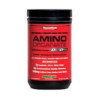 BCAA - Лейцин, Изолейцин, Валин MuscleMeds Amino decanate 360 г  арбуз