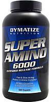 Аминокислотные комплексы Dymatize Super amino 6000 500 таб