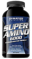 Аминокислотные комплексы Dymatize Super amino 6000 345 таб