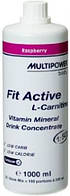 Карнитин, L-карнитин, L-Carnitine Multipower  Fit Active L-carnitine 1000мл   ананас ananas