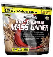 Гейнеры MuscleTech 100% premium mass gainer 5400 г  ваниль