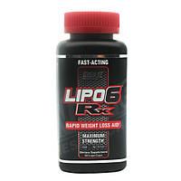 Жиросжигатели, Термогеники Nutrex Lipo 6 Rx  60 liquid-caps