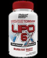 Жиросжигатели Nutrex Lipo-6x 120 капс