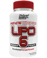 Жиросжигатели, Липотропики Nutrex Lipo-6 120 капс