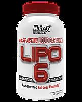 Жиросжигатели, Липотропики Nutrex Lipo-6 240 капс
