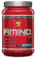 BCAA - Лейцин, Изолейцин, Валин BSN Amino x 1015 г  фруктовый пунш