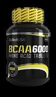 BCAA - Лейцин, Изолейцин, Валин BioTech Bcaa 6000 100 таблеток