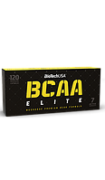 BCAA - Лейцин, Изолейцин, Валин BioTech Bcaa elite 120 капсул