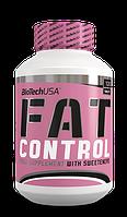 Жиросжигатели BioTech Fat control 120 таблеток  апельсин