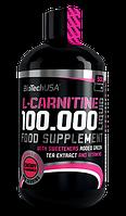 Карнитин, L-карнитин, L-Carnitine BioTech L-carnitine 100.000 liquid 500 мл  вишня
