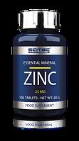 Минеральные комплексы Scitec Essentials Zinc 100 tablets