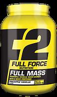 Гейнеры Full Force Nutrition Full mass 4400 г  КЛУБНИКА – БАНАН