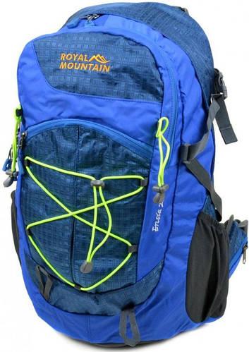Синий туристический рюкзак Royal Mountain 8343-22 blue, 28 л.