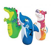 Игрушка-неваляшка Intex тигр, акула, крокодил
