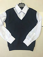 Кофта детска, обманка, одежда для мальчиков 116-134