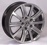 Литые диски Replica Volkswagen (SSL446) R15 W6 PCD5x112 ET47 DIA57.1 (HB)
